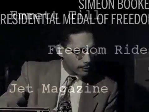 Simeon Booker, Medal of Freedom