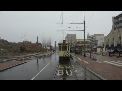 HTM tramlijn 1 Scheveningen Noorderstrand - Delft Tanthof   regen   GTL8 3125   2017