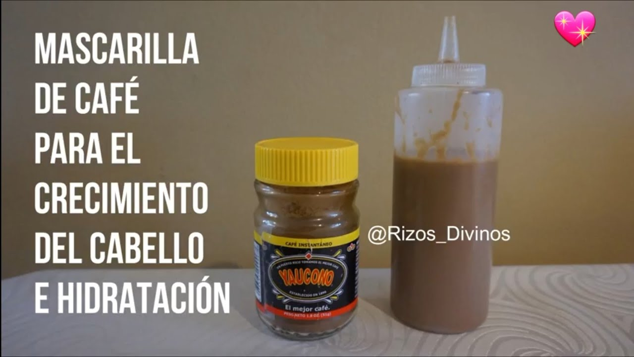 cómo hacer pedidos hacer un pedido buscar autorización Mascarilla De Café Para El Crecimiento e Hidratación Del Cabello