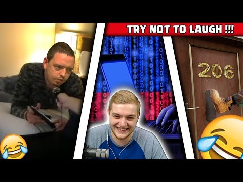 😂🚫TRY NOT TO LAUGH! | Die Top 3 Trymacs Funny Moments! |Hacker, 206, Psychopath Strobel