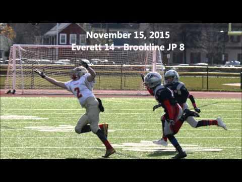2015 Crimson Tide B Team Game Highlights - Everett, MA