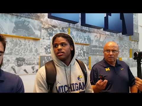 Michigan camp 2017: LB Devin Bush Jr. updates position group, personal progress