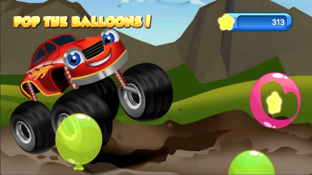 Monster Trucks Kids Racing Game App For Young Kids With 15 Different Monster Trucks In A Race Free Youtube