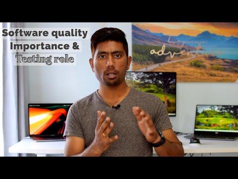 Software Quality Importance And Testing Role (மென்பொருள் தரம் மற்றும் அதன் முக்கியத்துவம்)