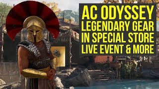 Assassin's Creed Odyssey Legendary Gear ADDED TO SPECIAL STORE, New Weekly Quest & More (AC Odyssey)