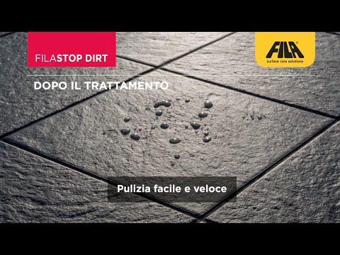 Pulire Il Gres Strutturato E Proteggerlo Dallo Sporco Con Filastop Dirt