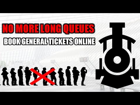 Book General/Platform Tickets ONLINE | Paperless Travel | NO MORE LONG QUEUES | Indian Railway