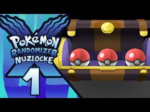 Pokemon X Randomizer Nuzlocke ITA [Parte 1 - Un Inizio... Casuale?]