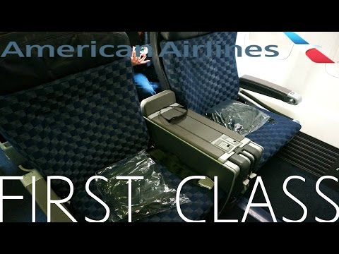 American Airlines FIRST CLASS San Diego to New York Boeing 737-800