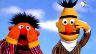 Bert en Ernie - Hand op je gezicht