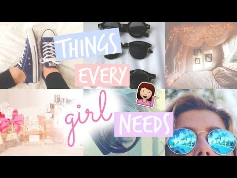 10 Things EVERY Girl Should Own!