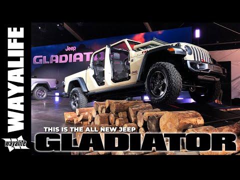 2020 Jeep Gladiator Reveal Multi Cam Option La Auto Show Jeep