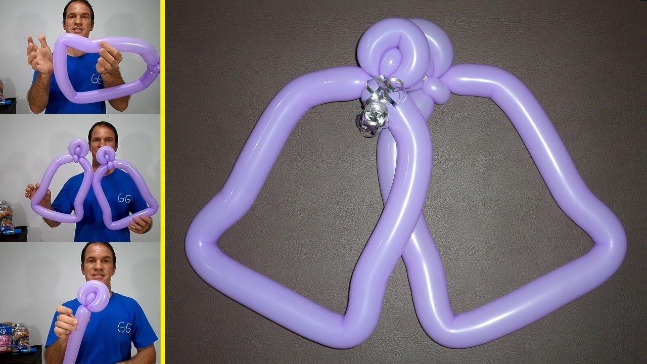Como hacer adornos navide os con globos decoraci n - Hacer decoraciones con globos ...