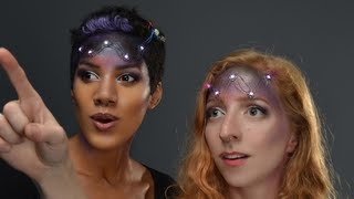 LED Galaxy Makeup - SPACE FACE