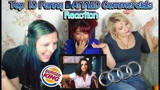 [REACTION] Top 10 Funny BANNED Commercials | Otome no Timing