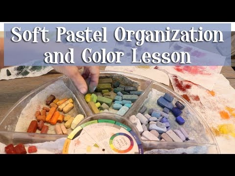 Soft Pastel Organization and Color Lesson!