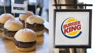 Burger King Testing out Plant-Based Impossible Whopper