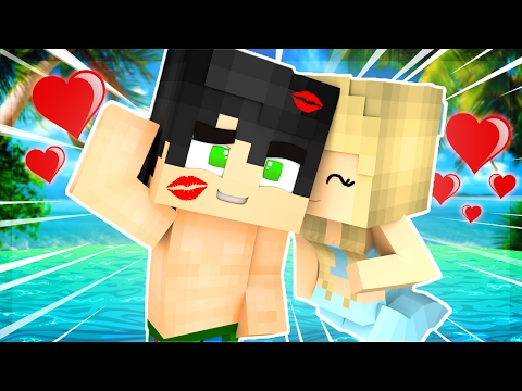 Minecraft - BABY MERMAID KISSES BABY DRACO!! (Minecraft Roleplay)