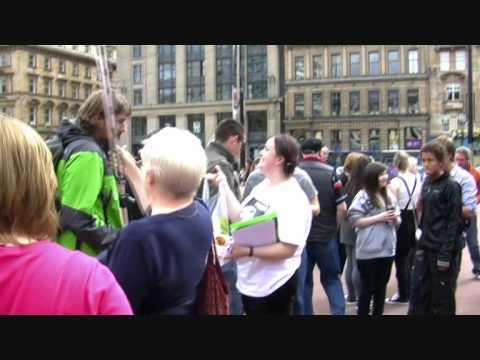 The Anti-Injustice Movement (feat The Love Police): 100 Cities Against Stoning Rally (Glasgow)