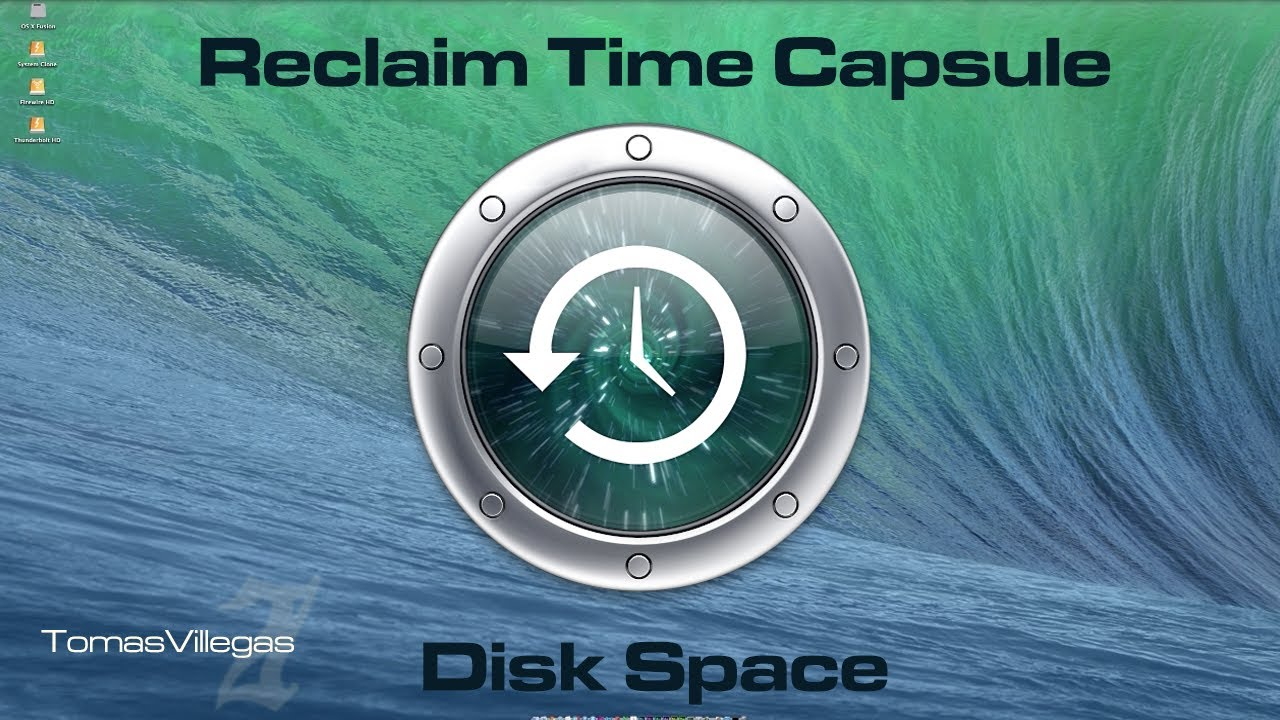 Reclaiming Time Capsule Disk Space - How To