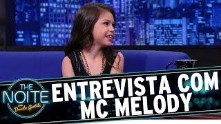 The Noite (25/12/15) - Entrevista com Melody