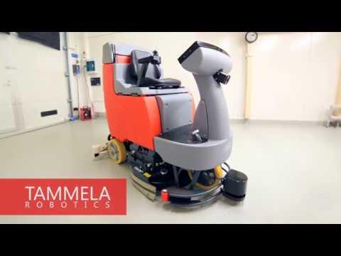 Autonomous Robotic Floor Scrubber | Tammela Robotics