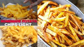 PATATINE FRITTE Tipo MC DONALD'S che NON FANNO INGRASSARE !!! | Carlitadolce Cucina - Homemade Chips