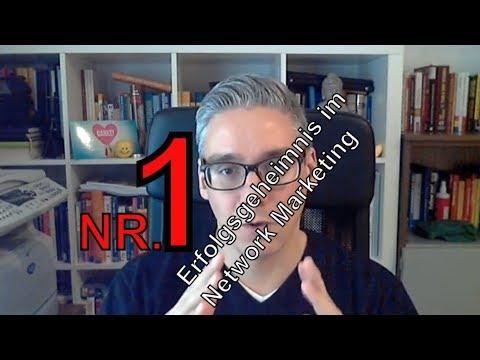 Erfolgsgeheimnis Nummer 1 im Network Marketing