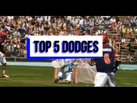 Top 5 Lacrosse Dodges - YouTube