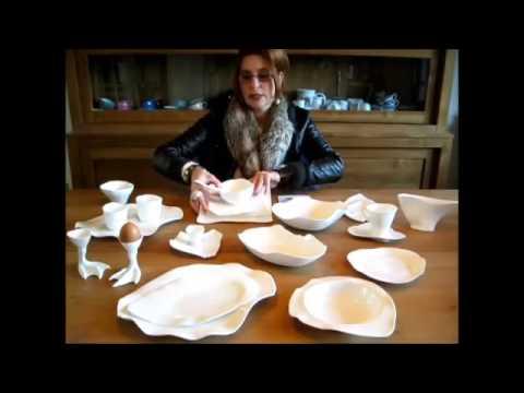 Compleet Porselein Servies.Roos Van De Velde Compleet Porselein Servies