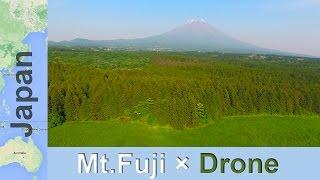 【富士山×ドローン】精進湖・本栖湖・山中湖・朝霧高原から空撮