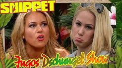 """Dschungelshow Jessica disst Dschungelküken """"Angelina Heger ist eine falsche Ratte"""" - Tag 3"""