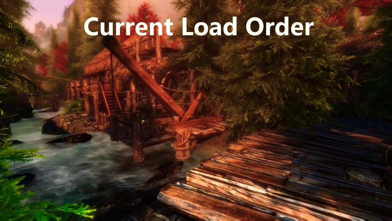 Skyrim mods xboxone - Updated load order by Pandamarie gaming