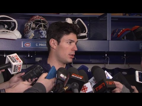 Price says don't worry Canadiens fans, he'll be back soon