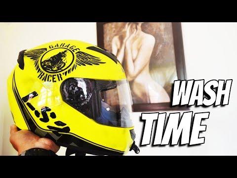 Vlog#1: Helmet Stinks! | Malas | LS2 FF3352 | Wash Time |