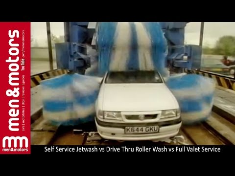 Self Service Jetwash vs Drive Thru Roller Wash vs Full Valet Service