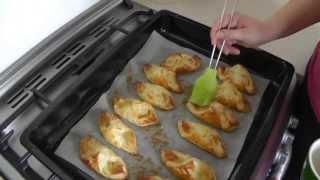 Szybkie ciasteczka francuskie z jabłkiem :)