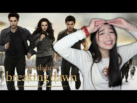 I CAN'T HANDLE **BREAKING DAWN PART 2**