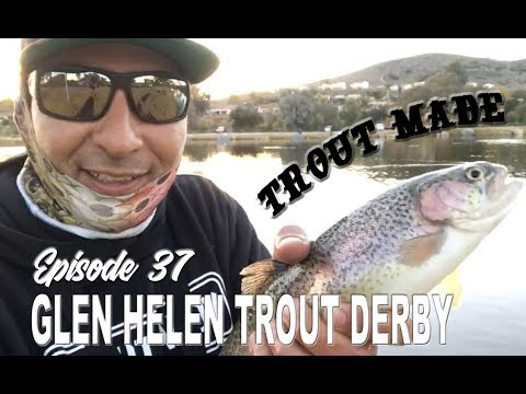 Glen Helen Trout Derby 2019 | It Was A Tough One For Me, Anglers! Trout Made