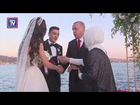 Erdogan jadi saksi dan pengapit Ozil