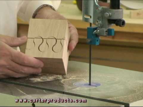 Scroll cutting with the Carter Stabilizer™ - YouTube