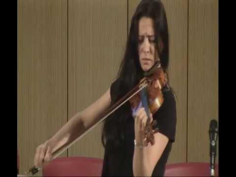 Sabina Rakcheyeva performs at the Auditorium of ADA.