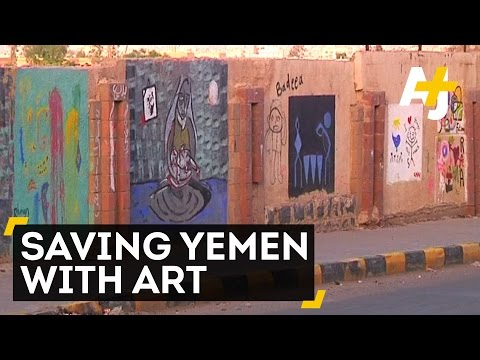 Yemeni Artist Fights Oppression And Suffering with Art