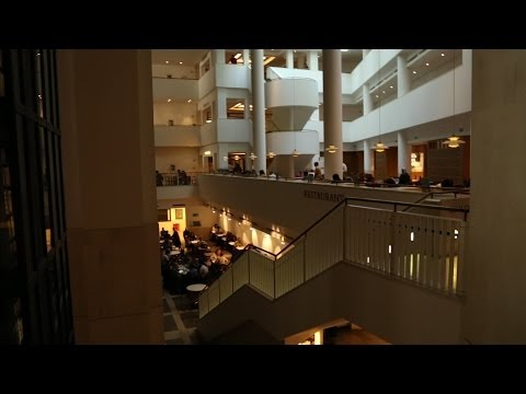 British Library in London's Bloomsbury: World's second largest library