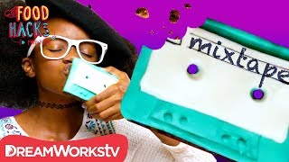 Edible Mixtape Brownies | FOOD HACKS FOR KIDS
