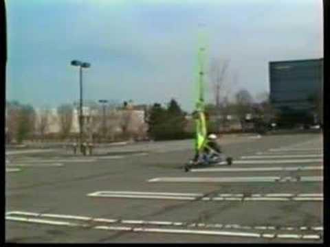 Landsailing Trike (parking lot sailing)1999