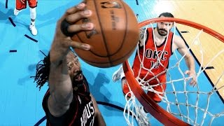 Nene Shot 100% 28 Pts! Westbrook Clutch 3 Missed FT! Rockets Thunder Game 4