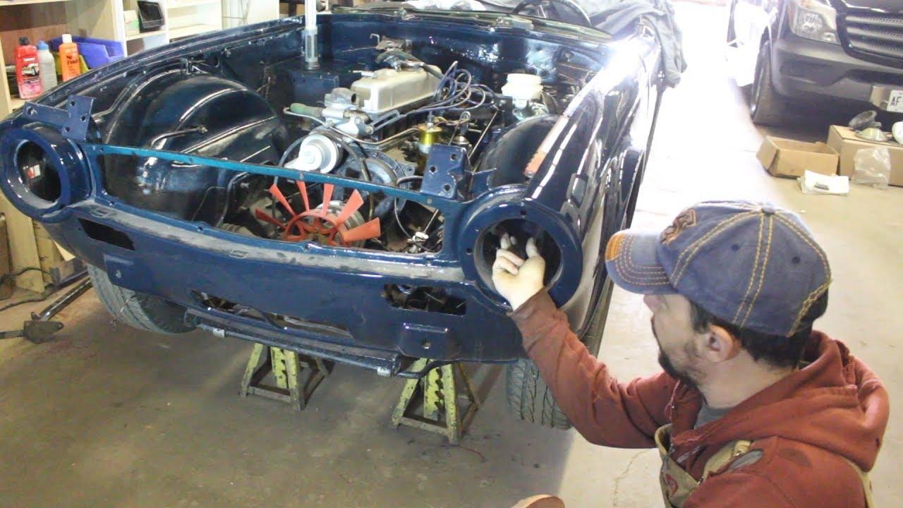 1973 triumph tr6 restoration part 15 wiring harness [ 1280 x 720 Pixel ]