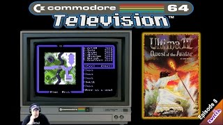 Video ⭐️C64 Television⭐️ Playing Ultima 4:Quest of the Avatar (Episode 8) on the Commodore 64. download MP3, 3GP, MP4, WEBM, AVI, FLV Oktober 2018