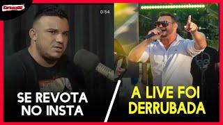 Junior Vianna Faz DESABAFO apos ser CRITICADO FORTEMENTE no instagram , LIVE do Lenno foi Derrubada